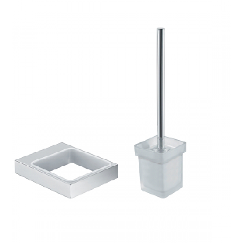 Cube Toilet Brush Holder