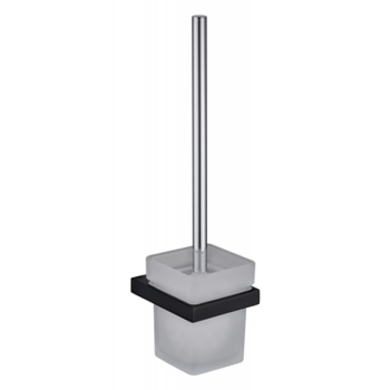 Cube Black Toilet Brush