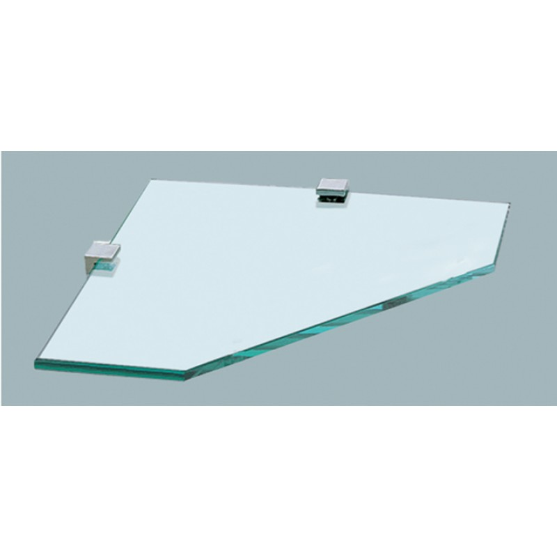 Corner Glass Shelf   220mm
