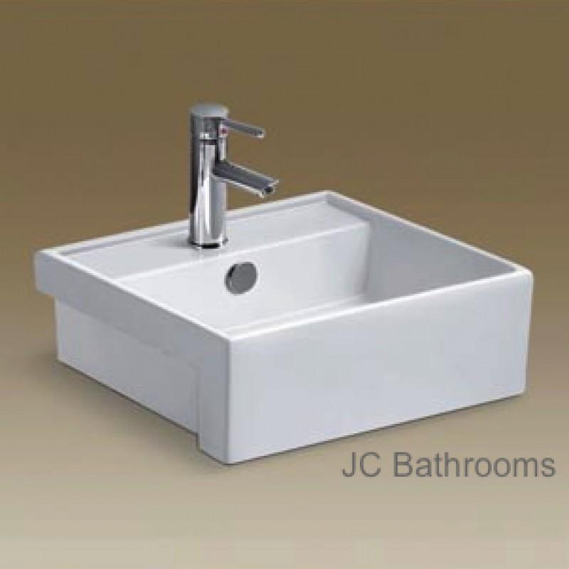 Semi Recessed Basin - B108