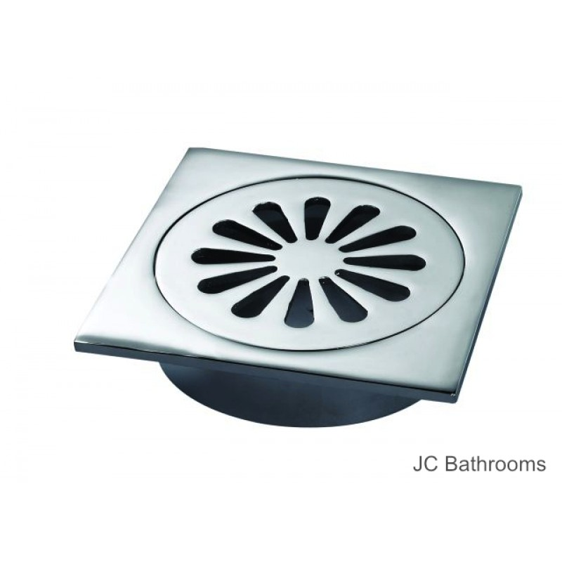 Square Sunny Floor Grate - 100mm