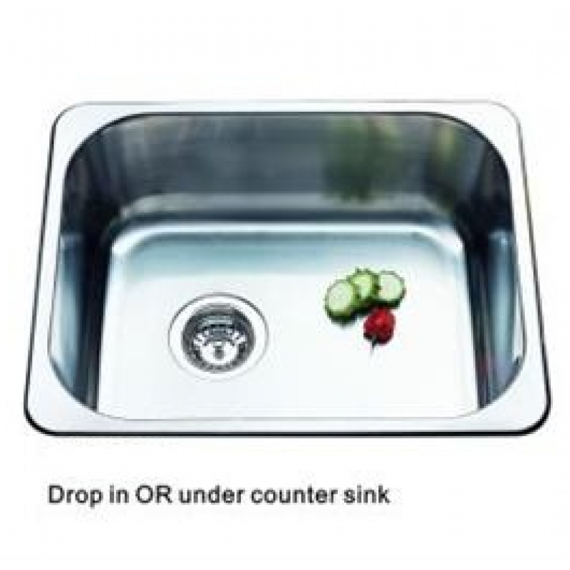 Drop In/Under Counter Sink - 450x395mm