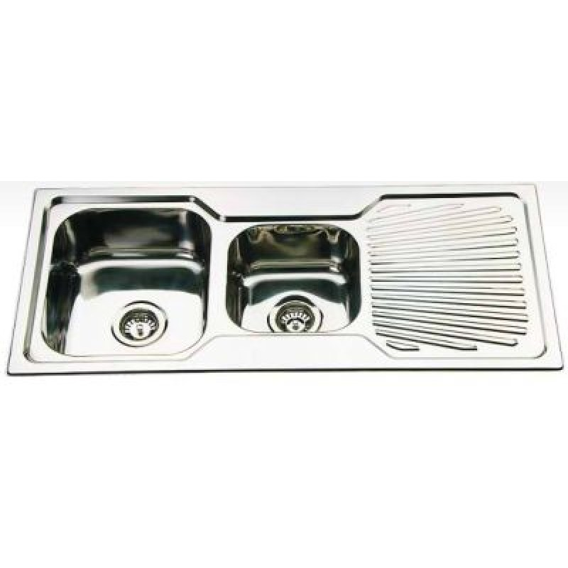 One and Half Bowl Kitchen Sink - 1080x480mm