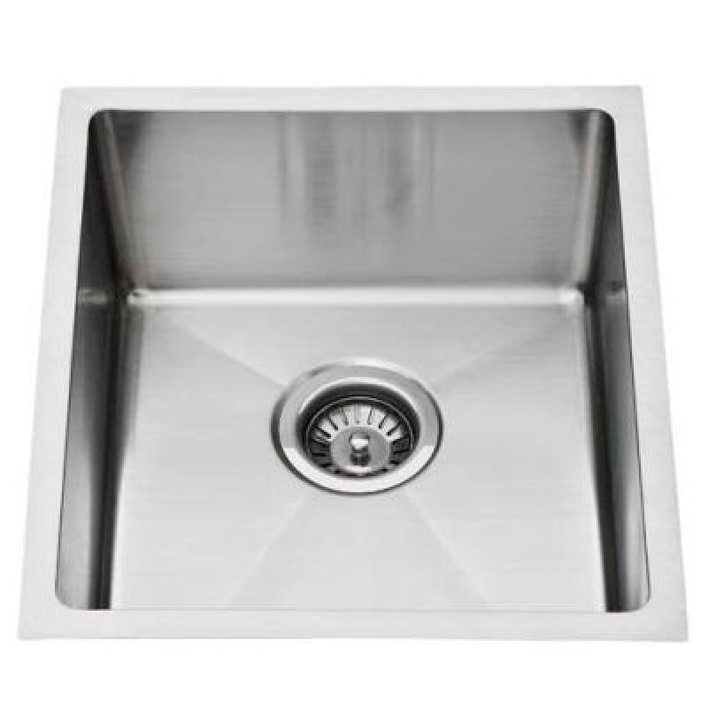 Super Deep Single Bowl Square Sink  380x440x240mm