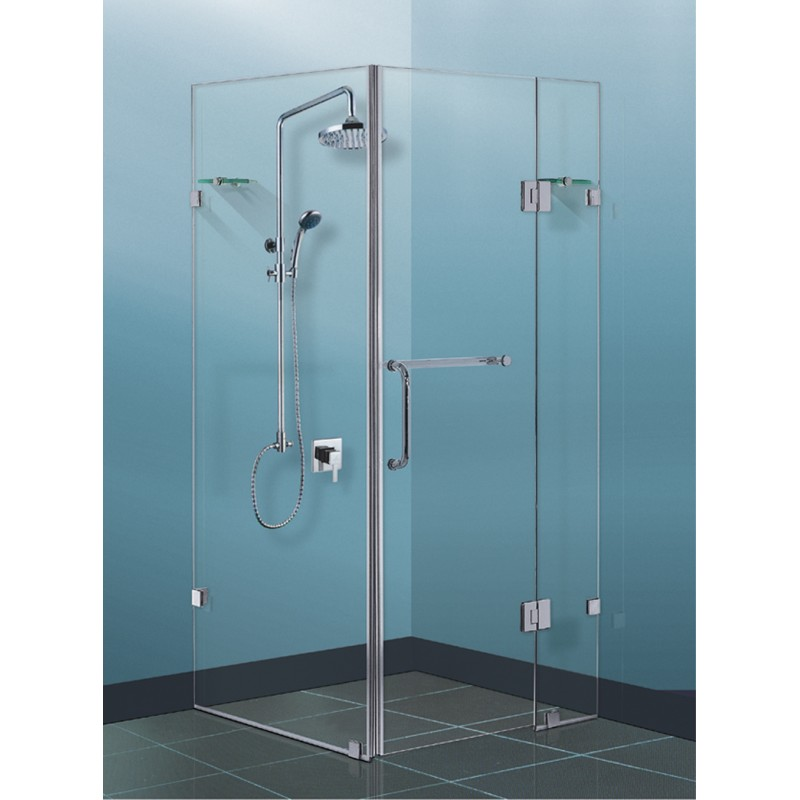 Square Shower Screen