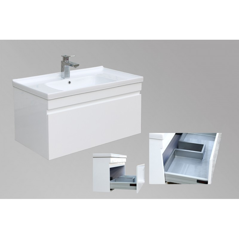 Serene Shadow Line Wall Hung Vanity 800mm