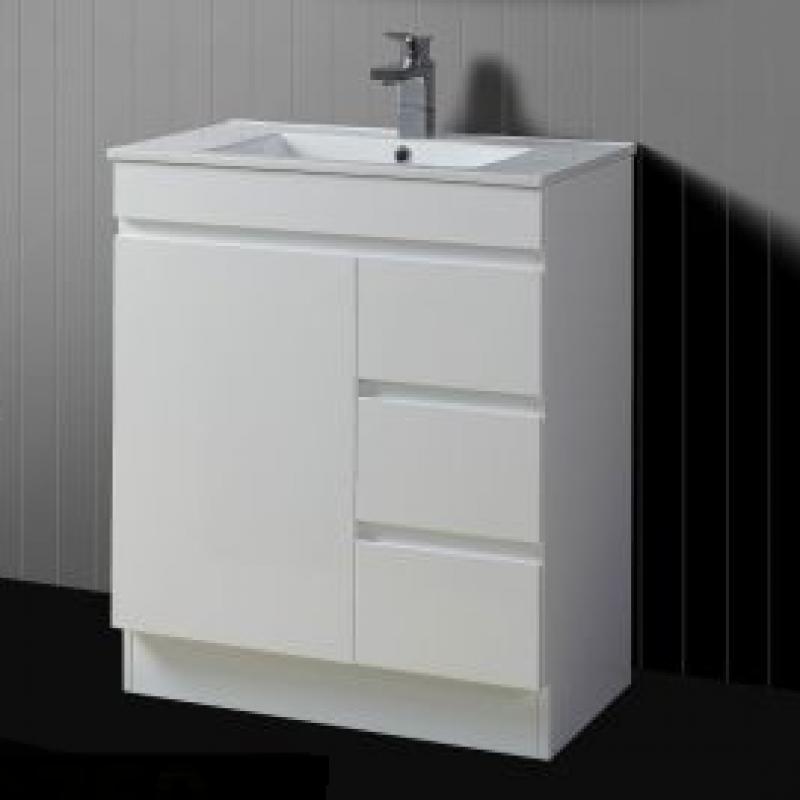 Serene Kickboard 750mm Vanity