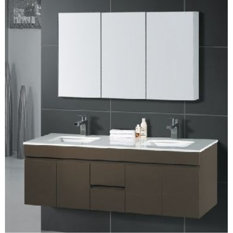 Gemini Wall Hung 1500mm Vanity